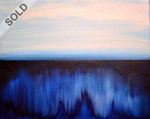Aurora I. | Acrylic on canvas | 40 × 30 cm